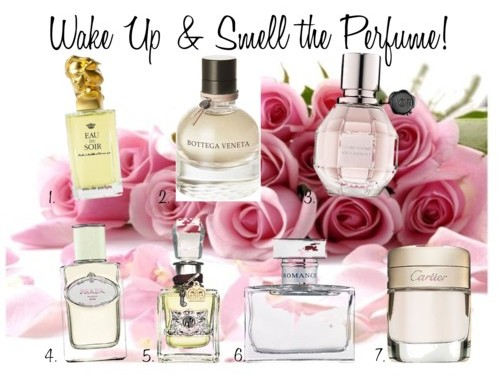 Wake Up & Smell the Perfume