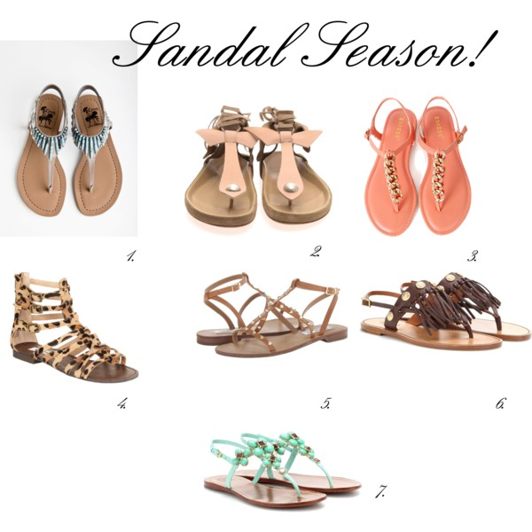 Pink-Layers Sandals Season