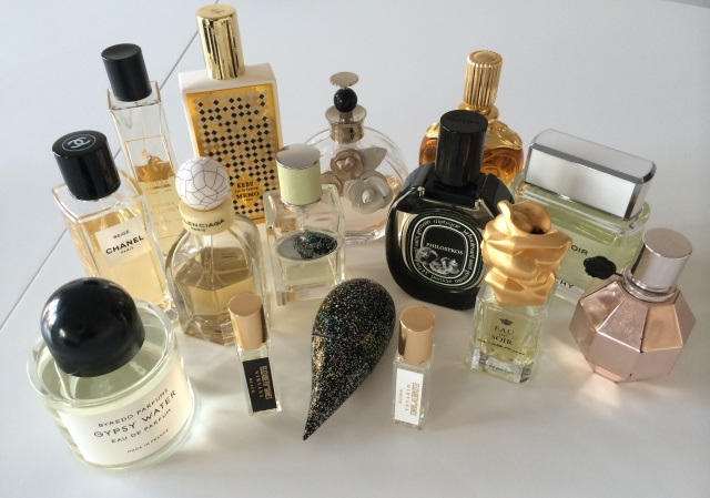 Perfume collection - Pink-Layers.com